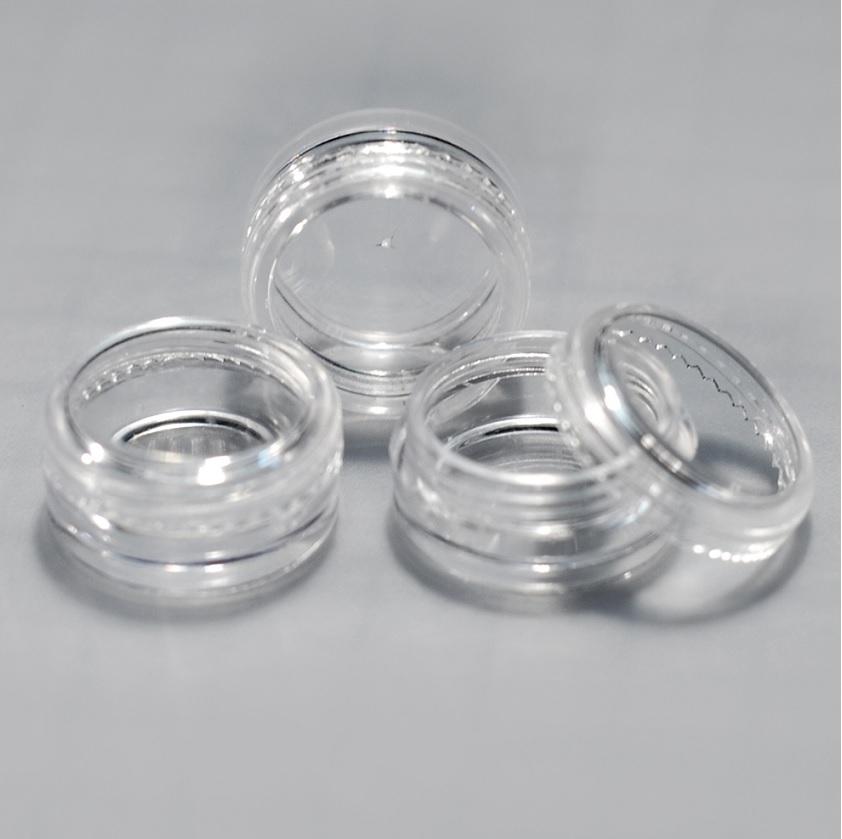 Cosmetic Sample Jars