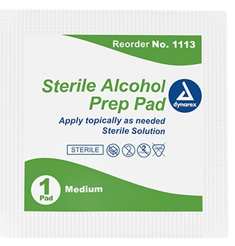 Alcohol Pads Sterile 200pcs/box