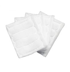 Cotton Facial Squares (160 pieces/bag) Cotton Facial Squares Dante Disposables